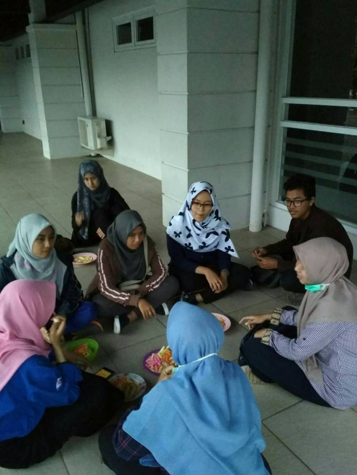 Diskusi bersama Atmos 9